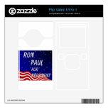 Ron Paul para el presidente cielo nocturno Flip Ultra II Skin