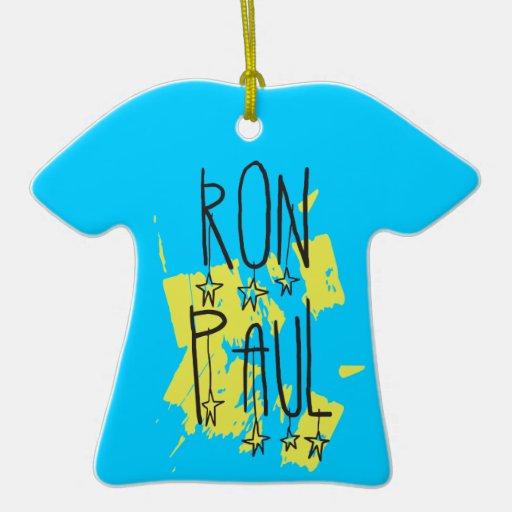 Ron Paul para el presidente Ornaments Para Arbol De Navidad