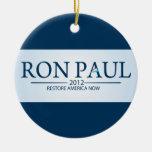 Ron Paul para el presidente Ornamentos Para Reyes Magos