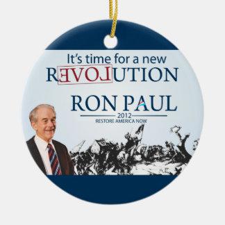 Ron Paul para el presidente Ornamento Para Reyes Magos