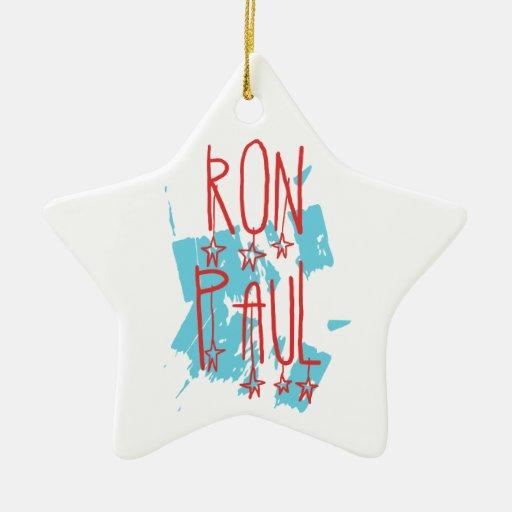 Ron Paul para el presidente Adorno De Reyes