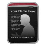 Ron Paul para el presidente Fundas Para iPads