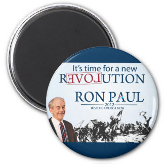 Ron Paul para el presidente Imán Redondo 5 Cm