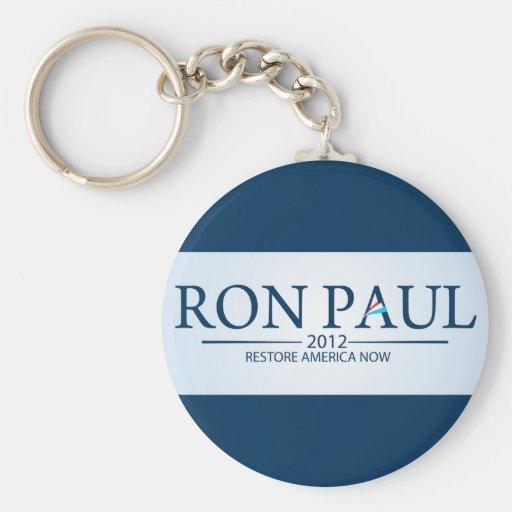 Ron Paul para el presidente Llavero Personalizado