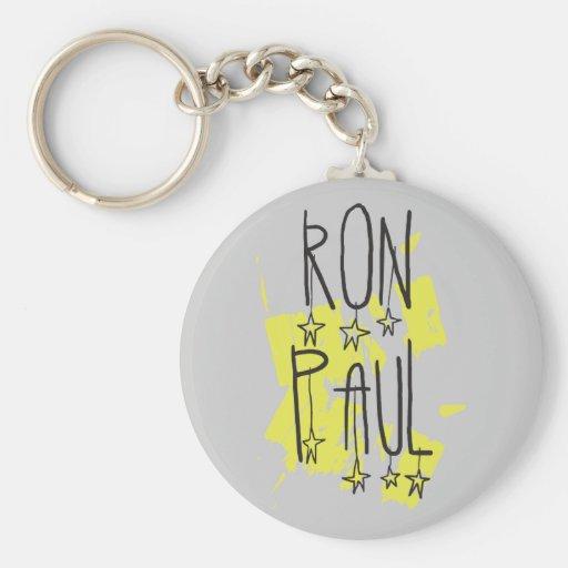 Ron Paul para el presidente Llaveros Personalizados