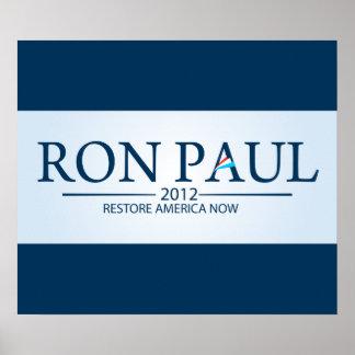 Ron Paul para el presidente Impresiones