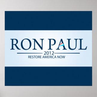 Ron Paul para el presidente Posters