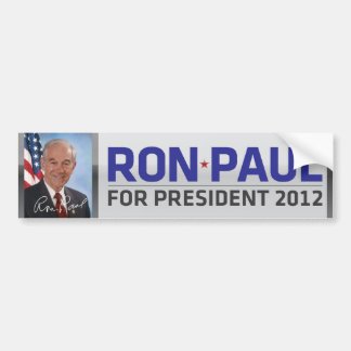 Ron Paul para el presidente pegatina para el parac Etiqueta De Parachoque