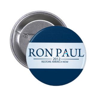 Ron Paul para el presidente Pins