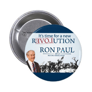 Ron Paul para el presidente Pin Redondo De 2 Pulgadas