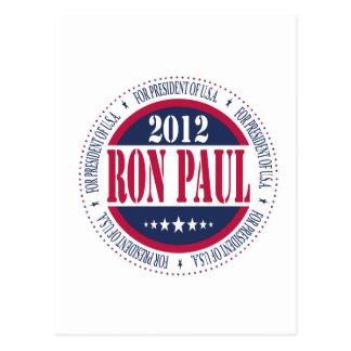 Ron Paul para el presidente Postales