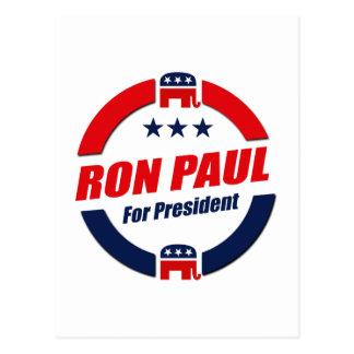 RON PAUL PARA el PRESIDENTE (republicano) Tarjetas Postales