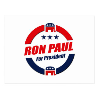 RON PAUL PARA el PRESIDENTE (republicano) Postales