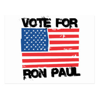 Ron Paul para el presidente Tarjeta Postal