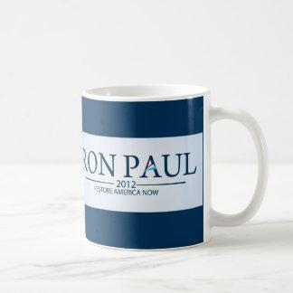 Ron Paul para el presidente Tazas De Café