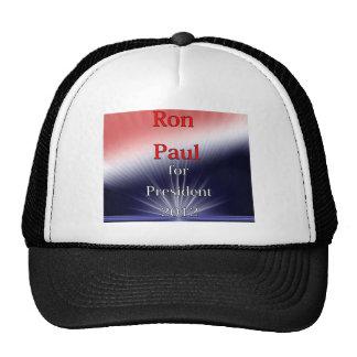 Ron Paul para Explosion de presidente Dulled Gorras
