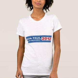 Ron Paul para la hembra 2012 del presidente Camiseta