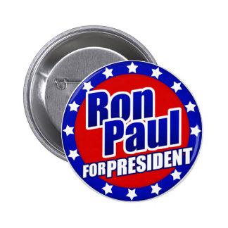 Ron Paul para presidente Button Pins