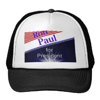Ron Paul para presidente Explosion Gorros Bordados