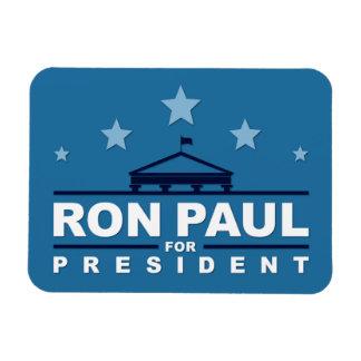 Ron Paul para presidente Magnet Imán Flexible