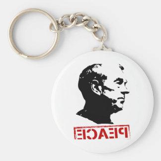 Ron Paul Peace Basic Round Button Keychain