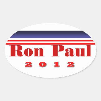 Ron Paul Pegatina Ovalada