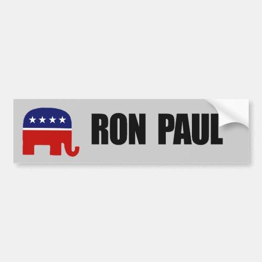 Ron Paul Pegatina Para Auto