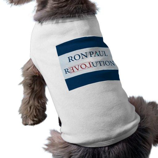 Ron Paul Playera Sin Mangas Para Perro