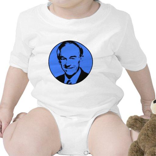 Ron Paul .png Traje De Bebé