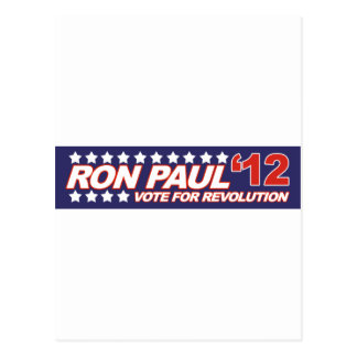 Ron Paul - política 2012 del presidente de la elec Postales