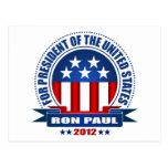 Ron Paul Post Card