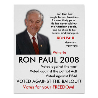 RON PAUL POSTER!