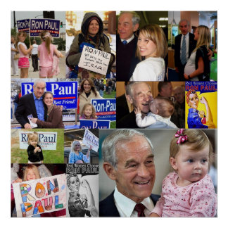 Ron Paul Poster all Girls
