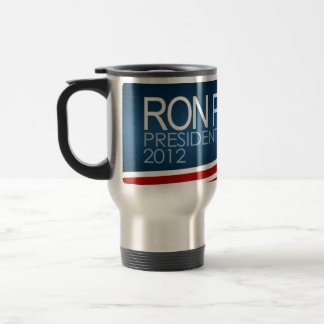 Ron Paul President 2012 15 Oz Stainless Steel Travel Mug