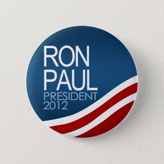 Ron Paul President 2012 Button