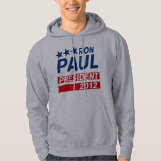 Ron Paul President 2012 Campaign Gear Hoodie
