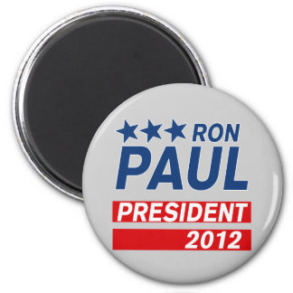 Ron Paul President 2012 Campaign Gear Magnet