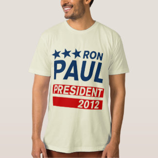Ron Paul President 2012 Campaign Gear T-Shirt