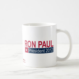 Ron Paul President 2012 Coffee Mug
