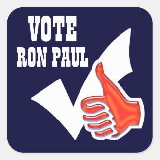 Ron Paul president 2012 CUSTOMIZE Square Sticker