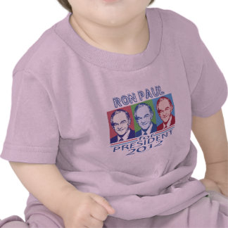 Ron Paul President 2012 gear Tshirts