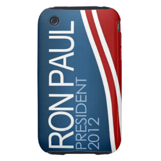 Ron Paul President 2012 - iPhone 3G Case Tough iPhone 3 Cases