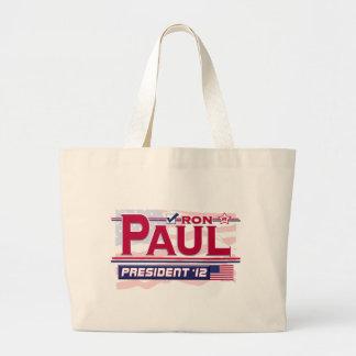 Ron Paul President 2012 Large Tote Bag