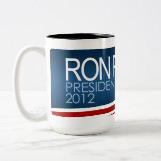 Ron Paul President 2012 Two-Tone Coffee Mug
