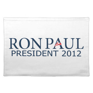 Ron Paul President 2012 Placemat