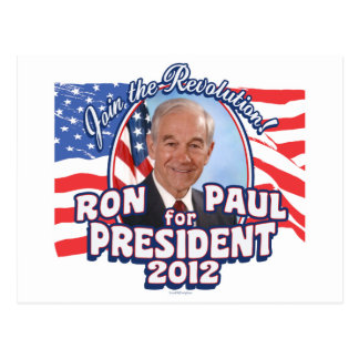 Ron Paul President 2012 Post Card