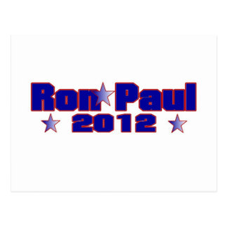 Ron Paul Presidential Star Postcard