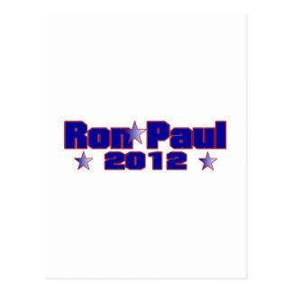 Ron Paul Presidential Star Postcard