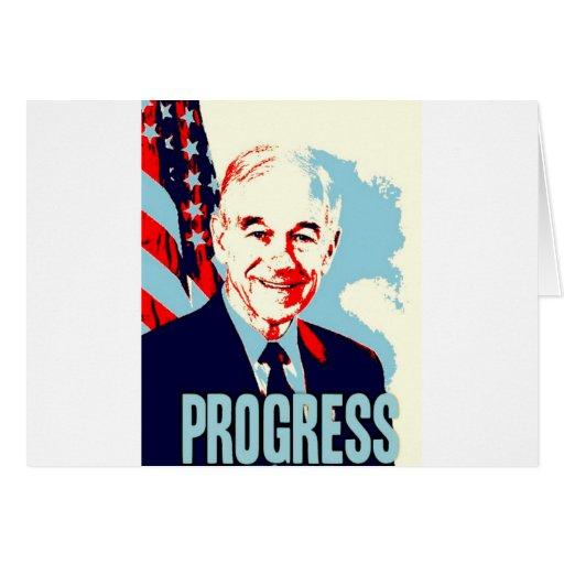 Ron Paul Progress Greeting Cards