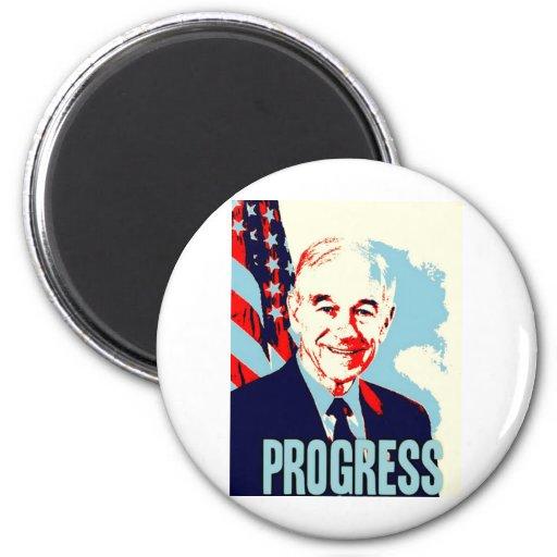 Ron Paul Progress Magnets